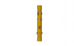 Centralizador para hastes de bombeio - Rod Guide Coupling;